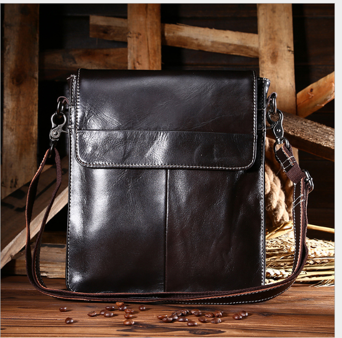 XIYUAN Male Famous Brand Crossbody Bags New Fashion Man Real Leather Messenger Bag Male Cross Body Shoulder Business Bag For Men