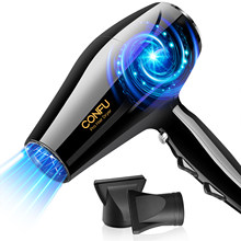 CONFU 2300W Hair Dryers Professional Salon Ionic Electric Blow dryer Fast Drying Hairdryer For Barber Salon Styling Tools
