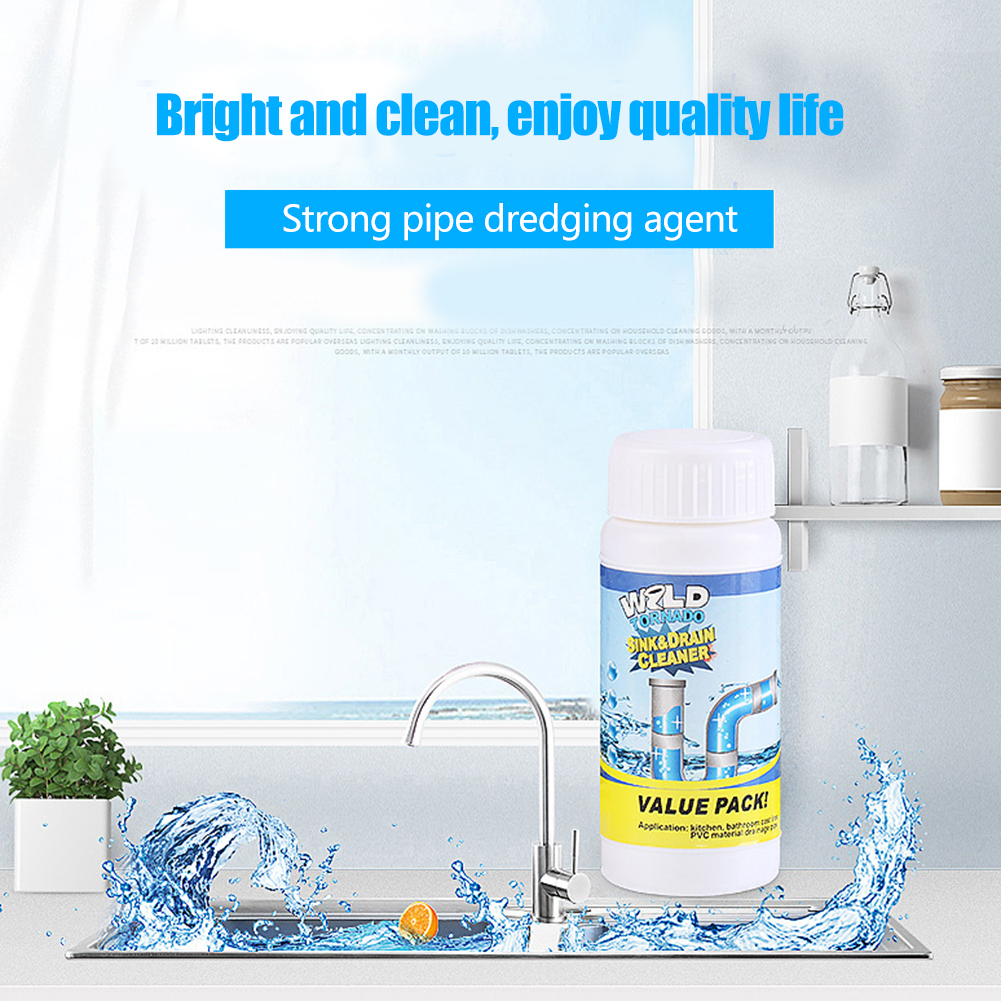 Sweet-Tempered High-efficiency Pipe Dredging Agent, Toilet Channel Blockage Dredging Agent, Drainage Cleaner, Chemical Powder Agent Humidifier