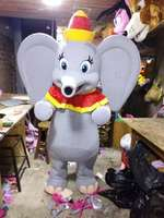 Beautiful Dumbo t Mascot Costume With free shipping Holiday special clothing
