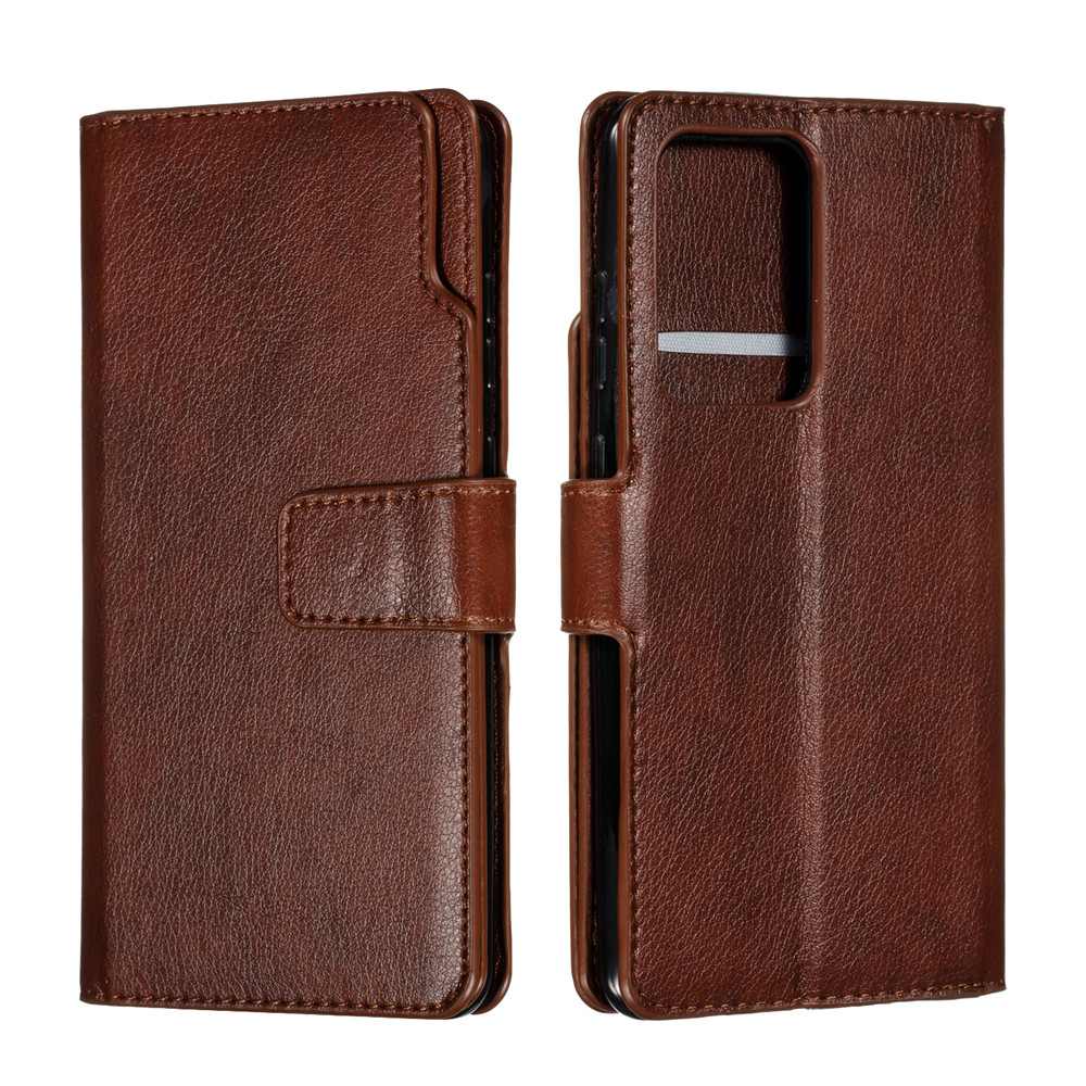 Luxury Leather Wallet S20ultra S20plus Case For Samsung Galaxy S20 S10 E S9 S8 Note 10 9 8 Plus 5G S7 Edge Flip Card Slots Cover