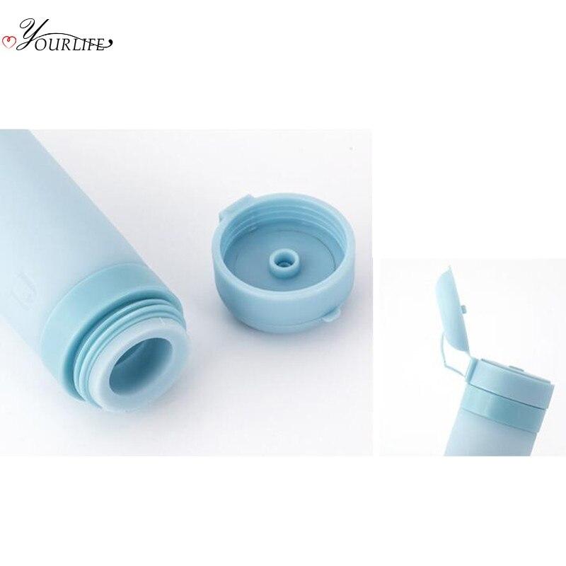 OYOURLIFE 45ml Nordic Silicone Soap Dispenser Bottle Bag Portable Travel Shower Gel Shampoo Hand Sanitizer Packaging Bottle