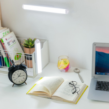 YAGE Magnetic LED Desk lamp Cabinet Light USB Rechargeable Remote Control Touch Dormitory Night Light For Study Bedroom Closet