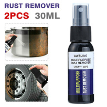 2Pcs 30ml Anti-rust Rust Remover Derusting Spray Maintenance Cleaning Tool Car Nozzle Rust Remover Door Window Rust Removal Tool