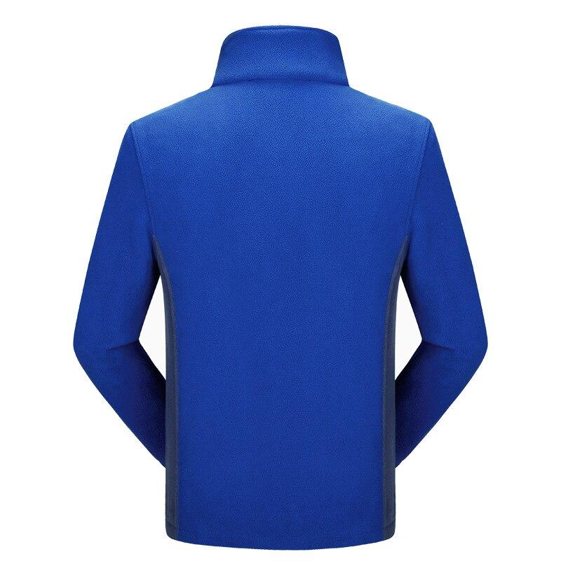 Fleece Mens Jacket Large Sizes 10xl 8xl 9xl 7xl 6xl Big and Tall Men Clothing Jacket Liner Autumn Spring Cardigan Plus Coat Male