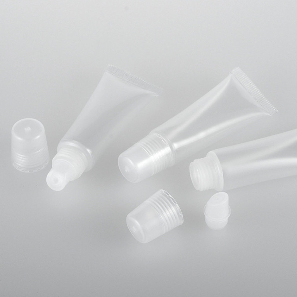 20pcs/lot 8ml Empty Lipstick Tube Lip Balm Soft Tube Makeup Squeeze Clear Lip Gloss Container