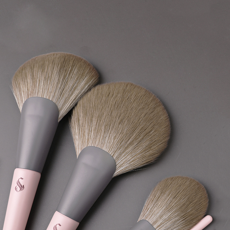 Cosmetic-Brush-Suit Blush-Brush Makeup-Tool Professional Super-Soft Fashion Wool Facial