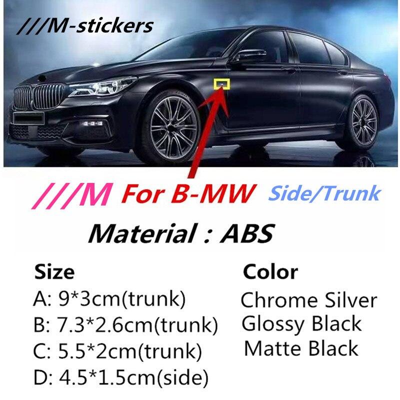 M Sport M Power эмблема наклейки значок крыло боковое крыло логотип багажника автомобиля для BMW X3 X5 X6 M3 M4 M5 320 325 E36 E46 E90 E92 F10 F30|Наклейки на автомобиль|   | АлиЭкспресс