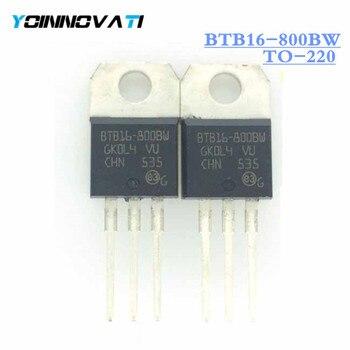 10 шт./лот BTB16-800BW BTB16800BW TRIAC alteristor 800V TO220AB лучшее качество.