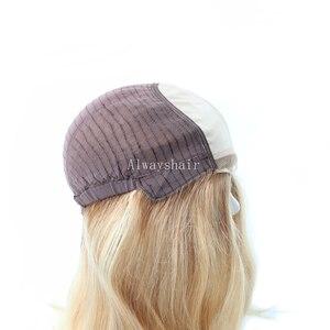 """Image 2 - MT11 14,5 """", peluca de lujo para mujeres, Mono, peluca judía de encaje frontal, peluca de cabello humano, pelucas de cabello chino Remy de cutícula para mujeres"""