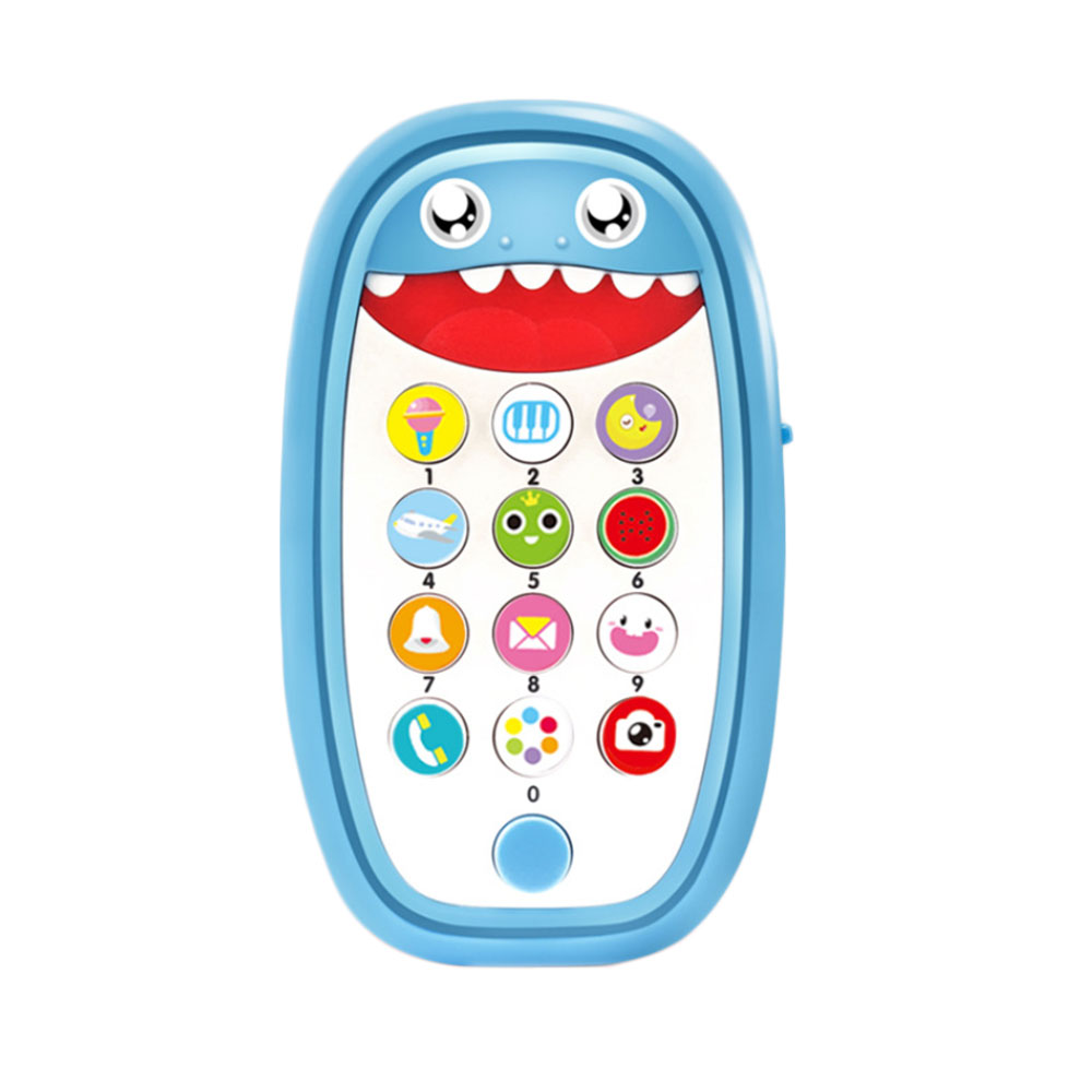 14*3.5*11cm Baby Simulation Intelligent Remote Control Mobile Story Machine Kids Educational Music Learning Phone Children Gifts