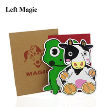 1 Набор, детские развивающие игрушки в виде коровы и лягушки