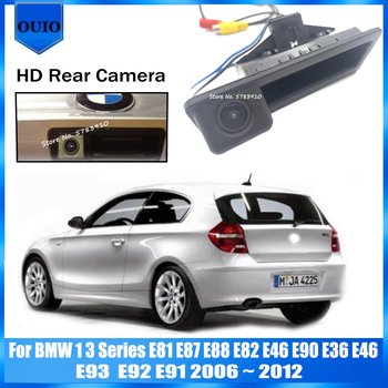 HD rear view camera For BMW 1 3 Series E81 E87 E88 E82 E46 E90 E36 E46 E93 E92 E91 2006 ~ 2012 Backup Parking Reversing Camera image