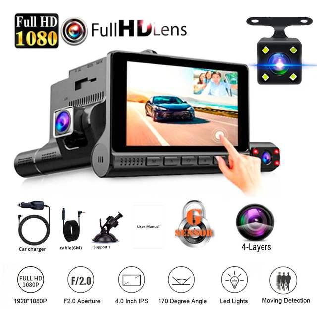 Dash Cam Video Recorder Rearview Camera 1