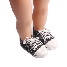2021 Popular Sneakers New Born Baby Doll Shoes for 18