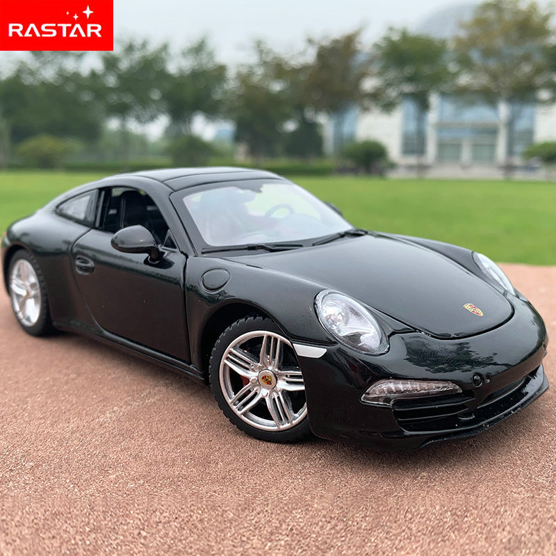 RASTAR 1:24 Porsche 911 Alloy Car Model Diecasts & Toy Vehicles Collect Gifts Non-remote Control Type Transport Toy