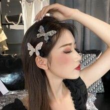 Для девочек с украшением в виде кристаллов заколки для волос