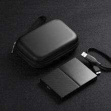 """Чехол для внешнего жесткого диска BUBM 2,"""", Чехол для жесткого диска, защитная сумка для Seagate samsung WD, внешний аккумулятор, Жесткий Чехол USB сумка для хранения кабеля"""