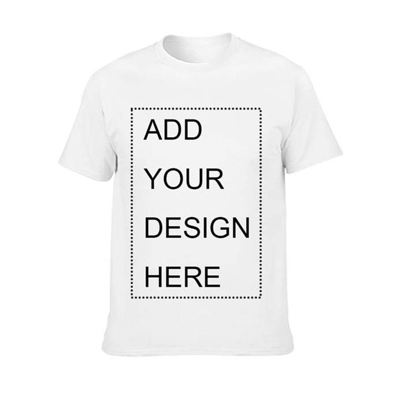 Your OWN Design Brand Logo/Picture Custom Men And Women DIY Cotton T Shirt Short Sleeve Casual T-shirt Tops Tees Mens Clothing
