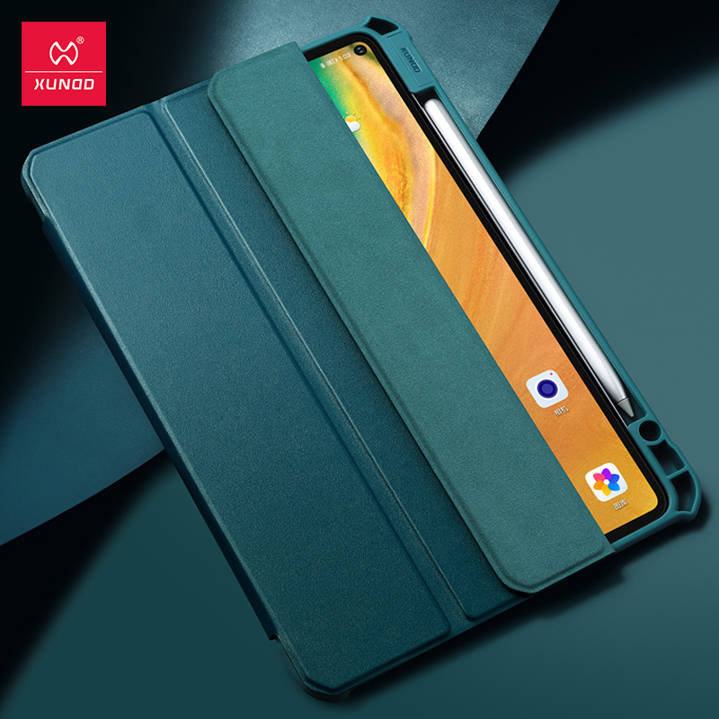 Xundd Caso Tablet Protettiva Per Huawei Matepad Pro Custodia In Pelle Airbag Astuto Della Copertura Antiurto Per Huawei Mediapad M6 10.8 Caso
