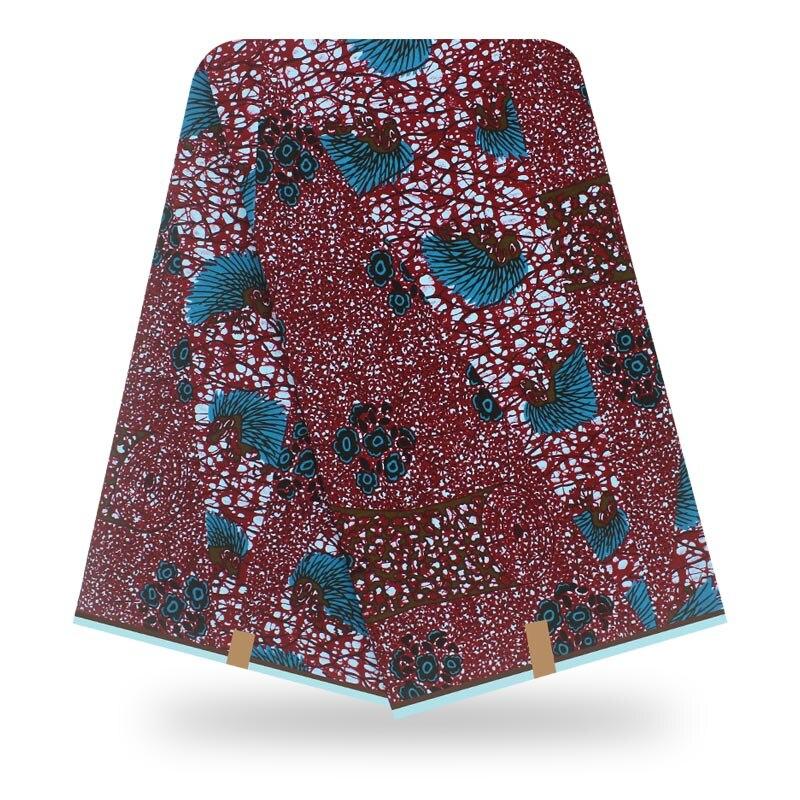 African Ankara Wax Original  Real Wax High Quality Pagne Wax African Ankara 6yard African Ankara Print Sewing Fabric