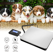 180kg/50g Digital Livestock Scale Platform Scale Heavy Duty Lectronic Postal Shipping Parcel Weighing Industrial Scale Pet Scale