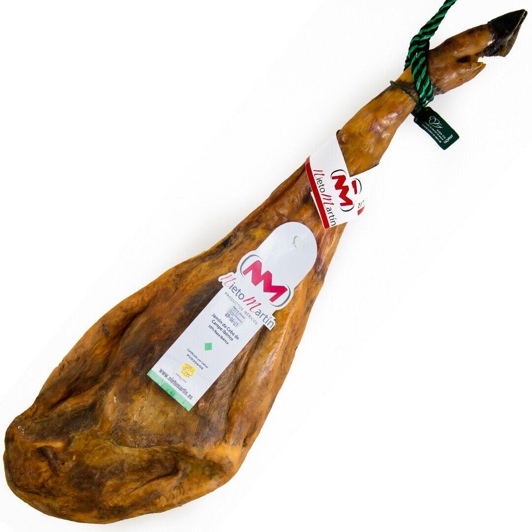 Jamón Ibérico de cebo de campo. Salamanca.Entre 7,2-7,6 kg aprox.Iberian Ham.