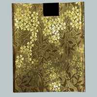 Bestickt Sego Headtie gele Afrikanischen Kopf Wrap Sego Gele Nigerian Headtie/Wrapper Gold Für Hochzeit Party LXL-47-10