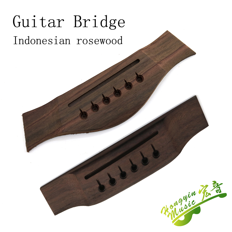 Acoustic Guitar Bridge High Quality Replacement Parts Wood Guitar Accessories 153*36*9mmIndonesian Rosewood