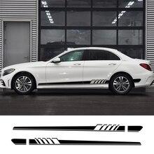 Автомобильная наклейка для Mercedes Benz W205 W212 W204 W203 W210 W213 W220 W221 W222 W124 W126 W140 W168 W169 W176, автомобильные аксессуары для тюнинга
