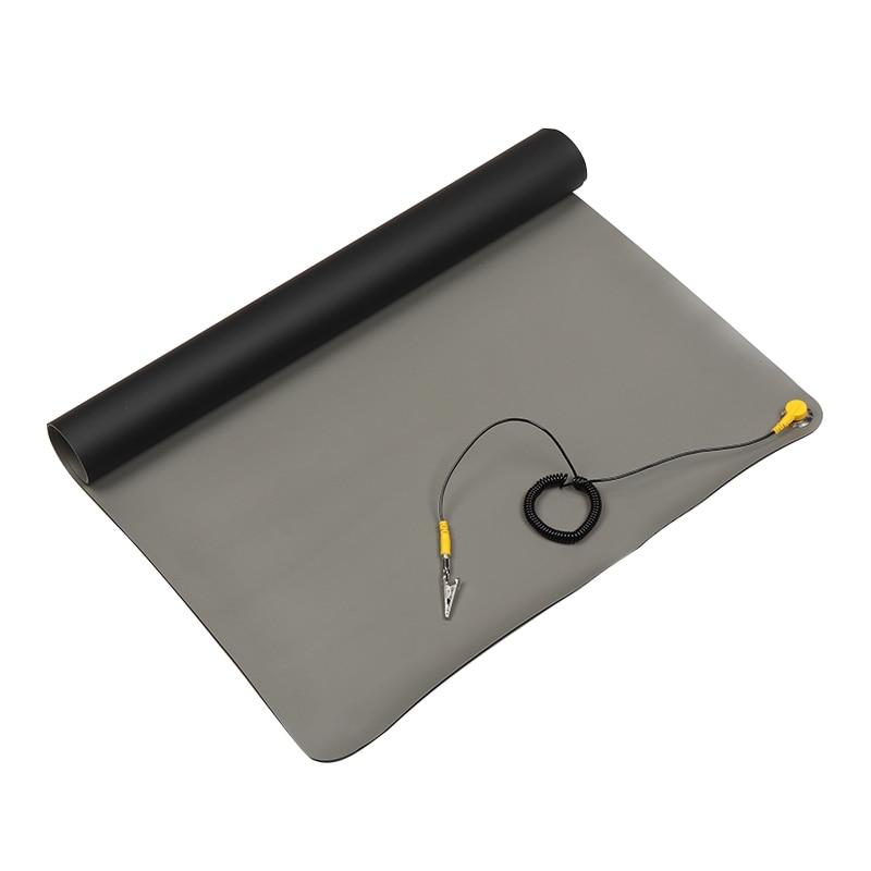 Cord for PC Laptop Repair Tool US Desktop Table Anti Static ESD Grounding Mat