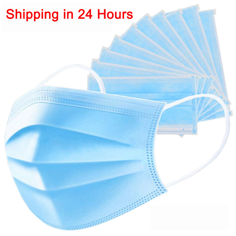 Disposable Anti Haze Protective Mask Anti-Fog Mouth Face Mask PM2.5 Cover Enhanced Protection Facial Mouth Dustproof Masks