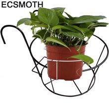 Saksisi Металл raflar mensole для fiori украшения terrasse planten