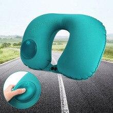 Портативная u-образная дорожная подушка для шеи, складные подушки под голову для самолета, для сна, автомобиля, поезда, подголовника, для дома, Nw