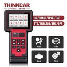 ثينك كار ثينك المسح 609 ماسح الرادار الخاص بالسيارة السيارات أداة تشخيص OBD2 رمز القارئ ECM TCM ABS SRS النفط TPMS الفرامل SAS ETS BMS DPF إعادة تعيين