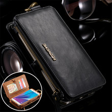 Flip Leather Case for Samsung Galaxy S20 Ultea S10 S9 S8 Plus S7 S6 Edge Zipper Wallet Cover for Samsung Note 20 10 9 8 5 Coque