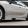 4 шт./компл. ABS Хромированная глянцевая отделка кузова автомобиля  молдинг на боковые двери  Формовочная пластина  Наклейка для Toyota CAMRY 2018 2019  ...
