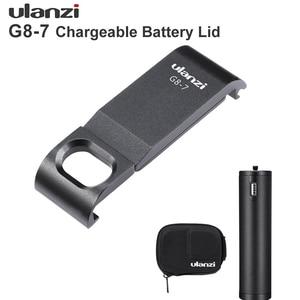 Image 1 - Ulanzi G8 7 移動プロヒーロー 8 バッテリーカバー着脱式の C 充電ポート移動プロヒーロー 3 2 黒 8 保護 accessorries
