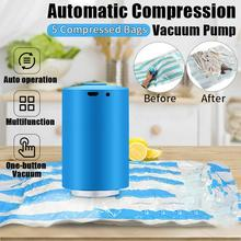 kitchen accessories Mini Automatic Compression Electric Vacuum Pump Food Clothes Sealing Machine gadgets USB