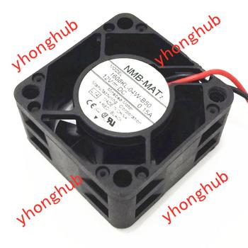 NMB-MAT 1608KL-04W-B50 L14 DC 12V 0.15A 40x40x20mm Server Cooling Fan nmb 3110gl b4w b79 cooling fan dc12v 0 38a 80x80x25mm