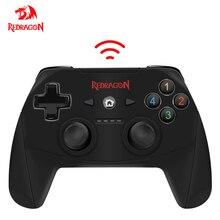 Bezprzewodowy Gamepad Redragon HARROW G808, 10 przyciskowy kontroler gier PC, brona, na Windows PC,PS3, Playstation,Android,Xbox 360