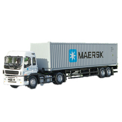 1/50 Multiple types alloy Isuzu Tow horse Maersk container metal Die-casting truck model toy gift children collection display
