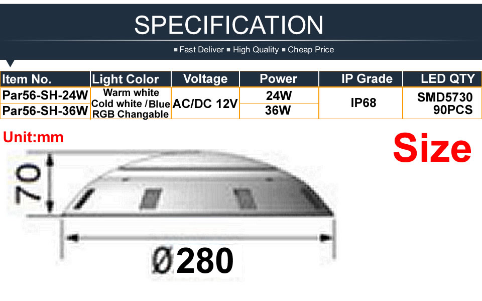 China led swimming pool light Suppliers