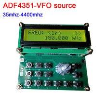 ADF4351-VFO fonte 35mhz-4400mhz fonte de sinal simples clock fonte v1.03