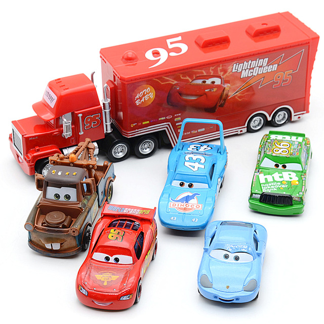 5 Cars and 1 Truck