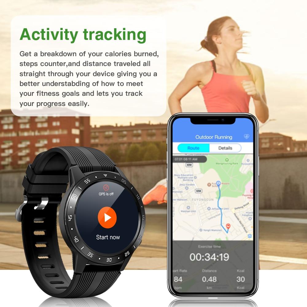 H01fa77cc364d4b5f8adb8635206f4cb9S GPS Smartwatch Men With SIM Card Fitness Compass Barometer Altitude M5 Mi Smart Watch Men Women 2021 for Android Xiaomi