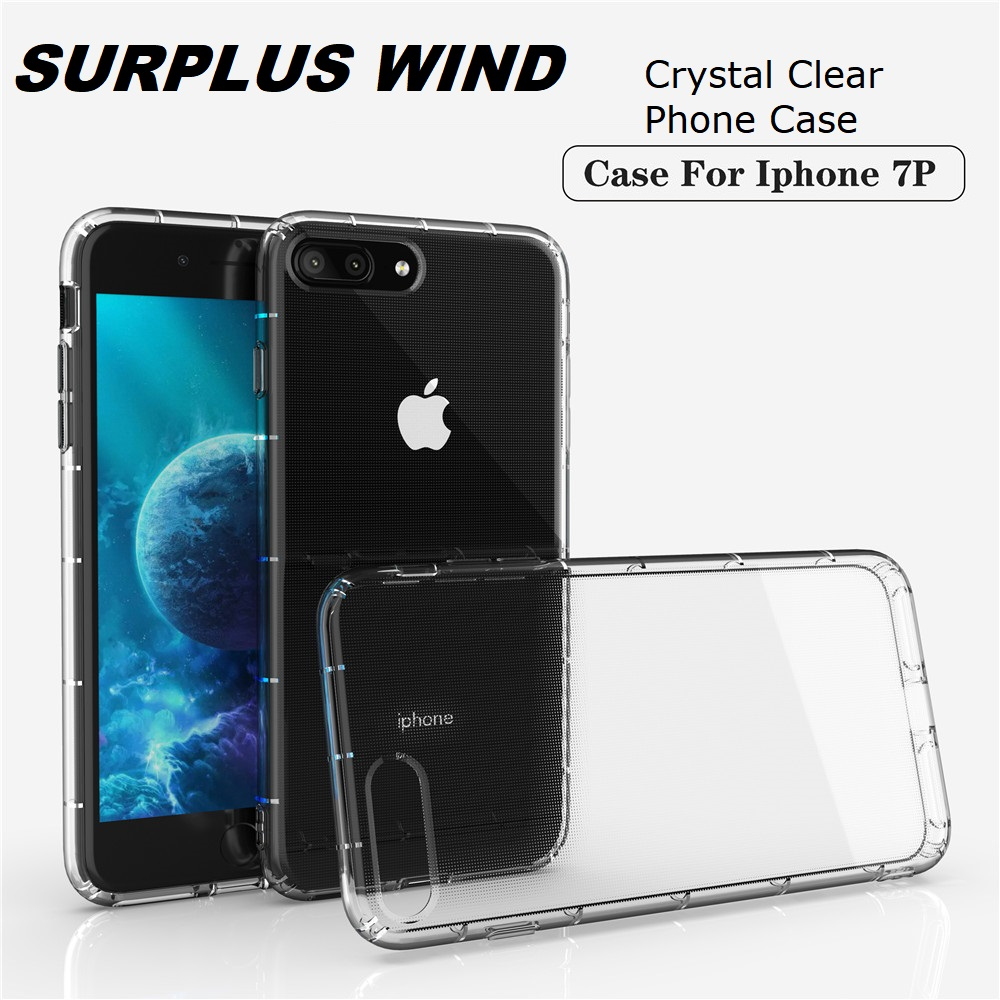 Soft Phone <font><b>Case</b></font> for iPhone 8 iPhone7 <font><b>iPhone6</b></font> 5 Clear TPU Back Cover <font><b>Bumper</b></font> Casing for iPhone8Plus iPhone7Plus Coque Funda image