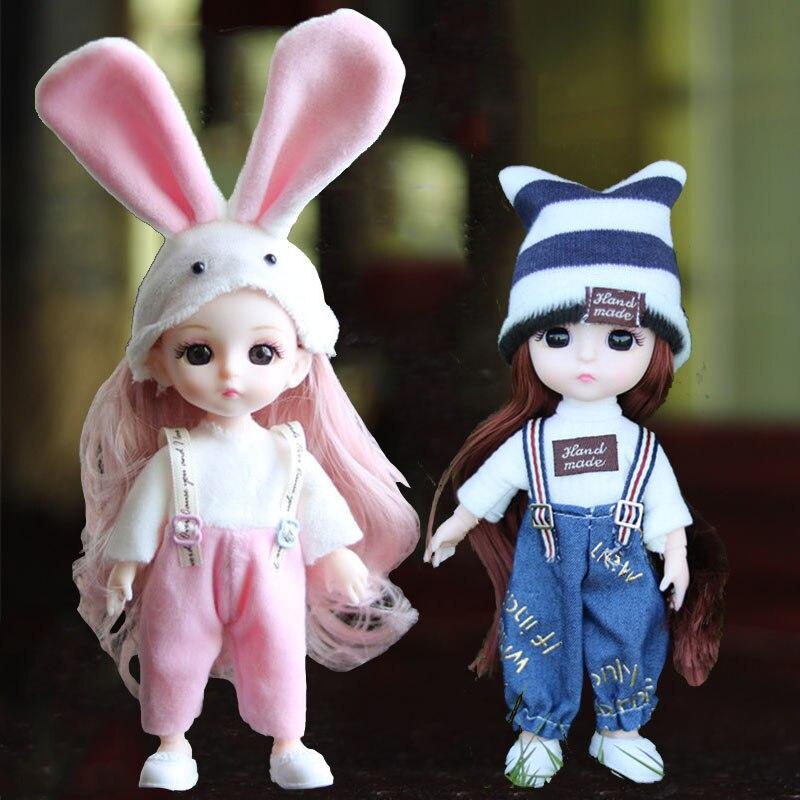 Bjd boneca roupas sapatos 16cm 13 comum plástico roupa do bebê diário casual usar acessórios moda boneca brinquedos para meninas diy presente 1/12,brinquedos menina bonecas boneca brinquedo casa de boneca