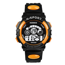 Fashion Multifunction Children Digital Watch Sport LED Display Date Alarm Girl C