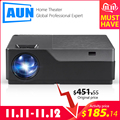 AUN Full HD Projector M18UP, 1920x1080P, Android 6.0 WIFI Video Beamer,5500 Lumens,for 4K Home Cinema (Optional M18 AC3)
